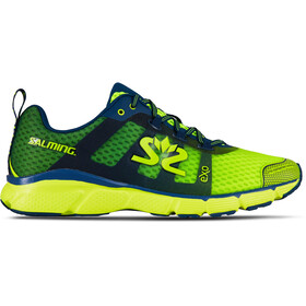 Salming enRoute 2 Sko Herrer, safety yellow/poseidon blue